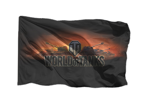 Флаг Мир Танков World of Tanks